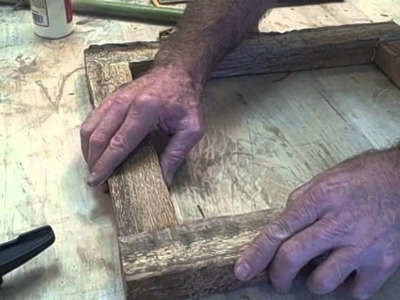 Log :Projects: How to Make an Art Frame From a Log