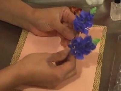 Making a Gumpaste Blue Bonnet by Petal Crafts