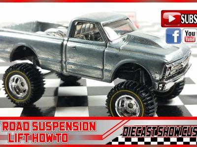 OFF ROAD SUSPENSION LIFT HOW TO