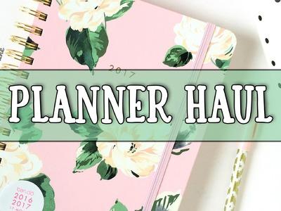 PLANNER HAUL! Cute planner clip subscription box, kawaii grab bag, Ban.do Agenda, & More!