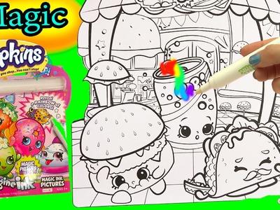 Shopkins Imagine Ink Rainbow Color Pen + Disney Princess Surprise Pictures Books