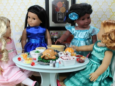 Thanksgiving Doll Room | American Girl Doll Room Tour