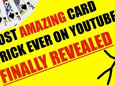 The Stickman Magicican - AMAZING Card Trick - Magic Tricks REVEALED