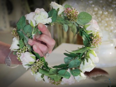 Wedding Floristry: How to make Circlet Headpieces (Bridal Headwear)