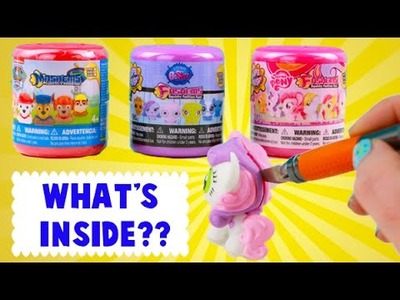 What's INSIDE of Mashems and Fashems? I Cut Open Some Toys!