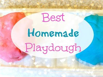 Best Homemade Playdough - Make it Monday