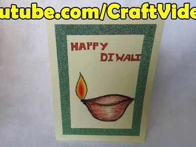Diwali Card Making for Kids | Diwali Card Making