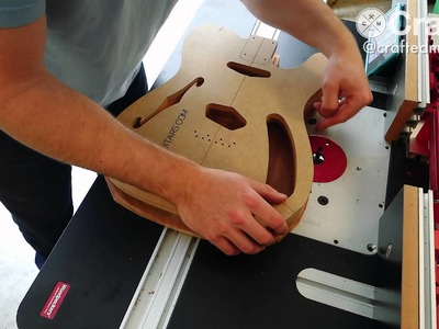 DIY Guitar Build, Part 3: At The Router Table | Crafted Workshop