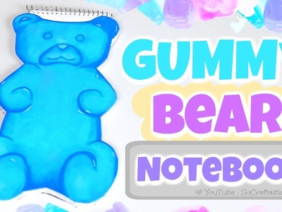 DIY Gummy Bear Notebook - Shaped Notebooks How To