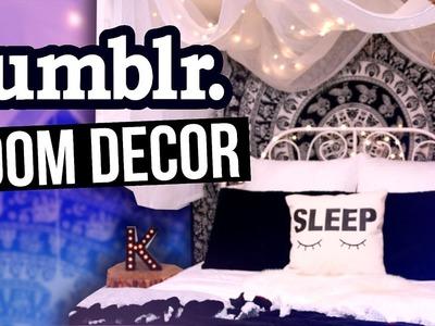DIY ROOM DECOR   Tumblr Room Makeover! 2016