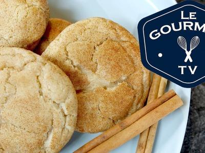 Double Cinnamon Sugar Cookies Recipe - LeGourmetTV
