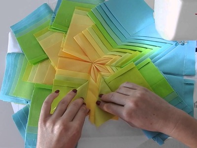 Fancy Folded Star Pillow - How To