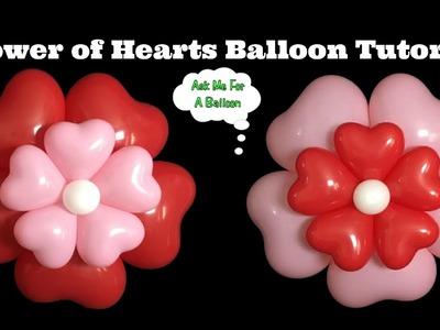 Flower Of Hearts Balloon Tutorial