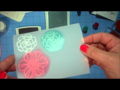 How to Color Vellum Cardstock