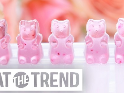 How to DIY Rosé Wine Gummy Bears | Eat the Trend