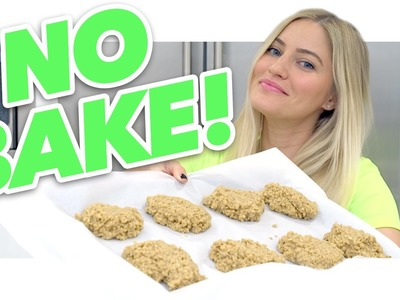 How to make NO BAKE peanut butter cookies!