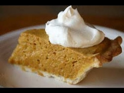 How To Make This Easy Homemade Pumpkin Pie Recipe - Try This Chiffon Style by Rockin Robin