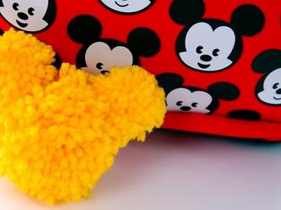 Mickey Pom Pom Keychain | Disney Family