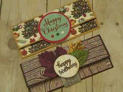 Money Holder Using Stampin' UP! Products