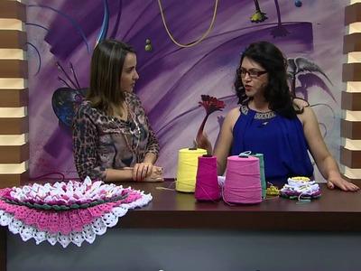 Mulher.com - 11.01.2016 - Crochê - Maria José PT1