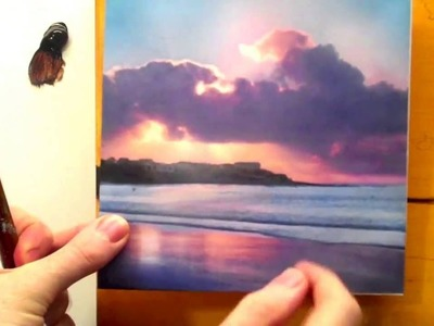 Paintings Tutorial #17 Acrylic landscape painting techniques for beginners Part 1