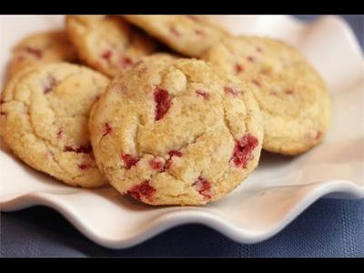 Raspberry Cheesecake Cookies Recipe | Homemade Raspberry Cheesecake Cookies Recipe