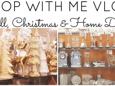 SHOP WITH ME VLOG!! ♡ HOMEGOODS (2 of them), TJ MAXX & MARSHALLS!! ♡ Fall, Christmas & Home Decor