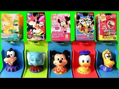 Surprise Boxes Mickey Mouse Clubhouse Pop-Up Surprise Disney Baby Toy with Dumbo Goofy Minnie Donald