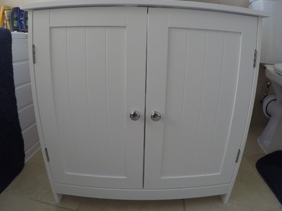 Under Sink Bathroom Cabinet (review)