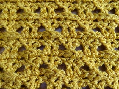 Cross Eyes Stitch - Crochet Tutorial