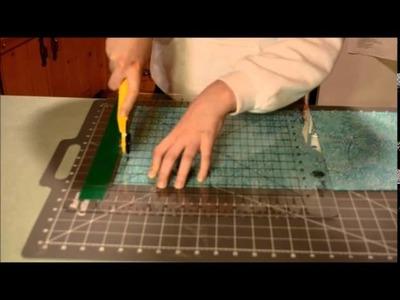 Cutting Long Fabric Strips Beginners Tutorial