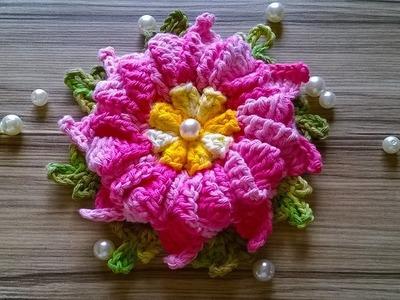 Flores de Crochê - Flor Estrela do Mar