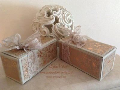 Gift Bag Punch Board Treat Box