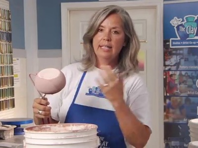 Glazing 101 with The Clay Lady