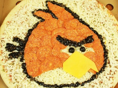 HOW TO MAKE ANGRY BIRDS PIZZA - NERDY NUMMIES