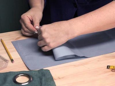 How to Make Eyelet Curtains : Making.Modifying Curtains