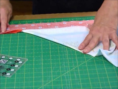 How to Mitre the corners on a Quilt Border - Quilting Tips & Techniques 168