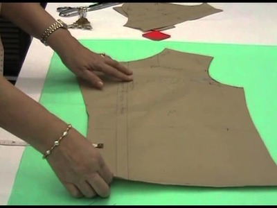 Lesson 3-12 - How to Lay, Pin, Mark and Cut the Fabric