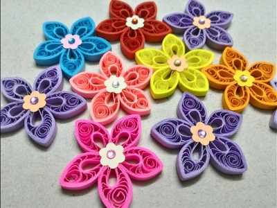 Marquise shaped Malaysian flower tutorial