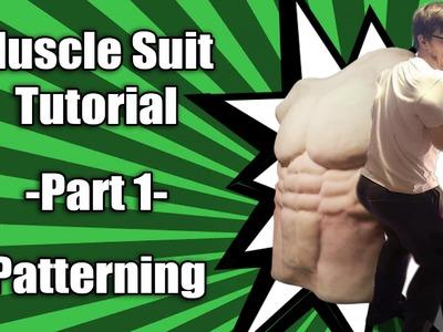 Muscle Suit Tutorial - Part 1 - Patterning