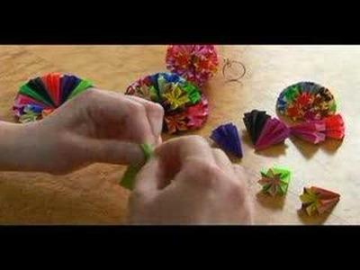 Origami Projects : Origami Kusudama: Part 3