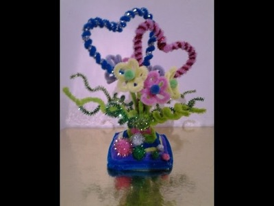 Pipe Cleaner Showpiece