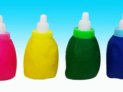 Play Doh Surprise Egg Color Feeding Bottle, Ice Cream Clay Toys
