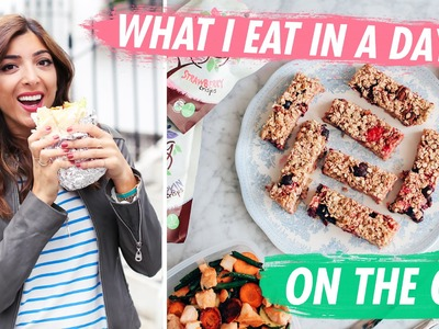 What I Eat In A Day: ON THE GO! | Amelia Liana
