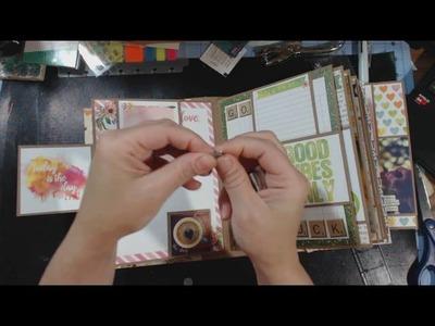 What I've been working on. | DCVW - Stateside | Bo Bunny - Calendar Girl