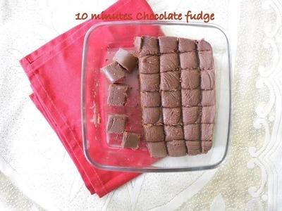 EASY CHOCOLATE FUDGE - HOMEMADE CHOCOLATE RECIPE | Nisa Homey