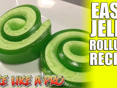 Easy JELLO Roll Ups Recipe - Super FAST !
