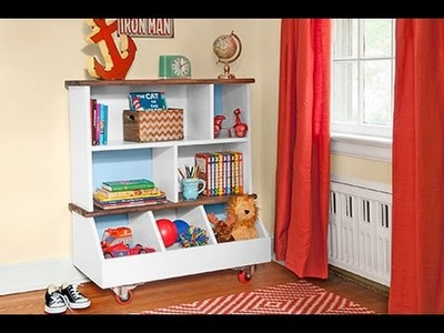 How to Build a Kids' Bookcase