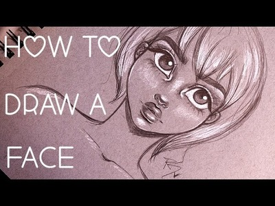 How to Draw a Face | Step by Step