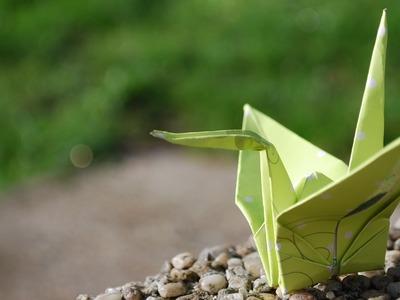 How to Fold a Peace Crane